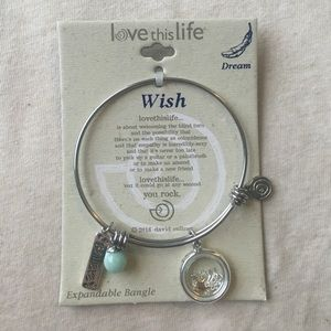 Jewelry - love this life expandable bracelet